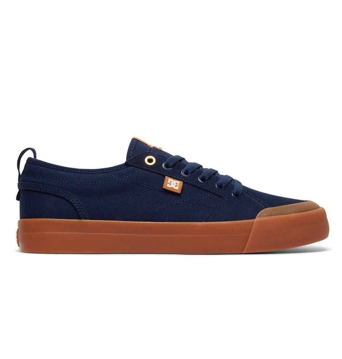 DC Men's Evan Smith TX Skate Shoe 10 D D US|Navy/Gum