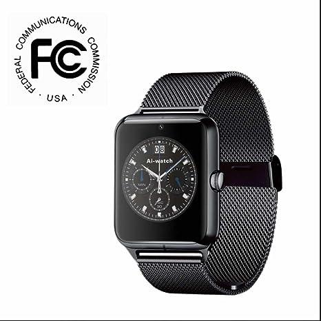 Smartwatch Relojes Deportivo Teléfonos Inteligentes Reloj con ...