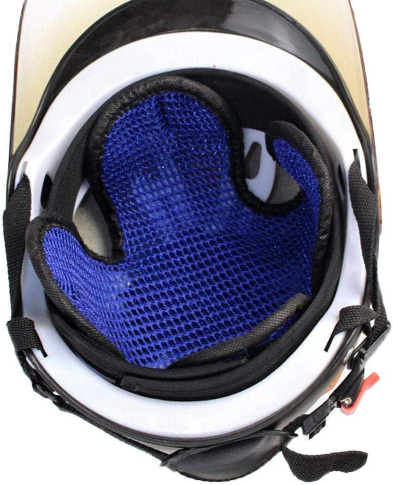 Mona43Henry Casco Almohadilla de enfriamiento Inserto de algod/ón Suave Forro 3D Malla de Aire Fresco Microfibra Protecci/ón para la Cabeza Sombrero Cap Mats Sweatband para Motocicleta Bicicleta