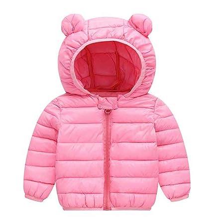 16018920fd33 GXYCP Kids Baby Girl Boy Winter Warm Ears Cotton Hooded Coat Down ...
