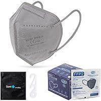25 st. FFP2 Masker + Antiseptisch Omhulsel + verstellers | CN Ultra Protection, CE-goedgekeurd | wegwerp - niet…