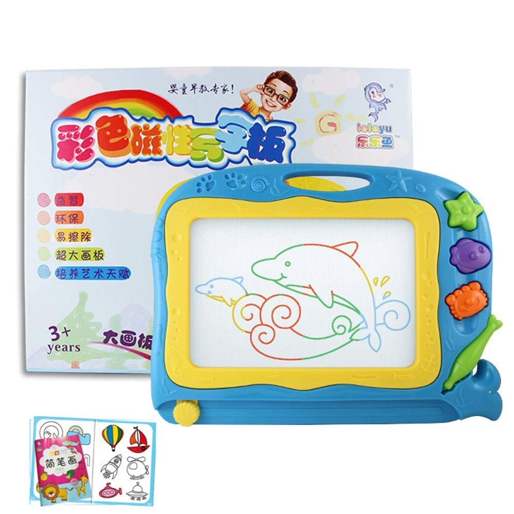 Toys & Games Color : Blue Xyanzi kids toys Magnetic Doodle Boards ...