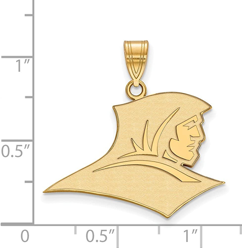 26mm x 31mm 925 Sterling Silver Yellow Gold-Plated Official Providence College Large Pendant Charm