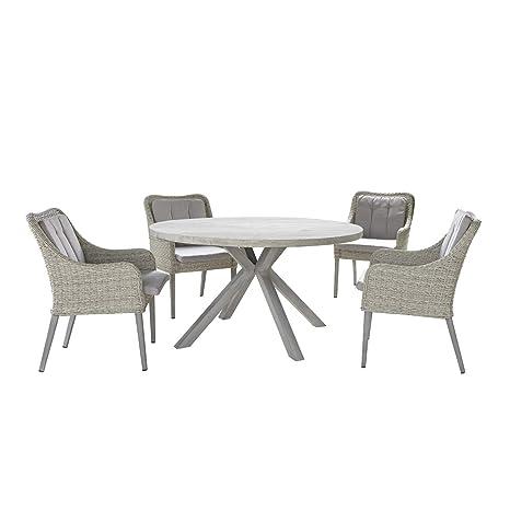 Juego de mesa Malesia con sillones: Amazon.es: Hogar