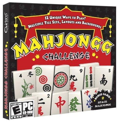 - Mahjongg Challenge (Jewel case) - PC