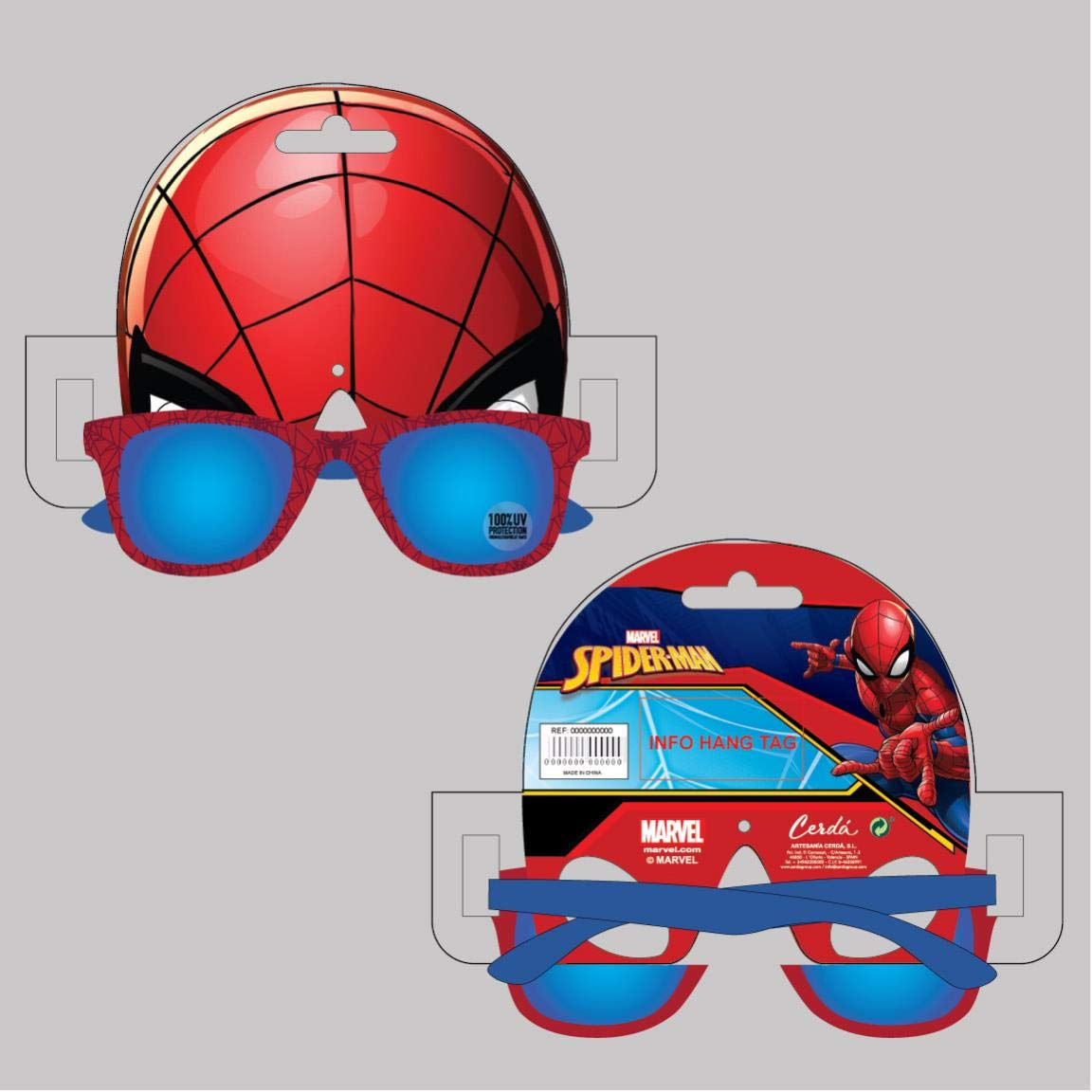 52 Bambino Artesania Cerda Gafas De Sol Spiderman Occhiali da sole Azul Blu