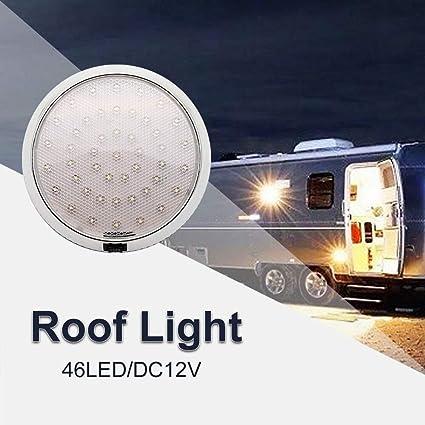46 LED de techo Luces de la cabina Techo Caravana Campervan Van ...