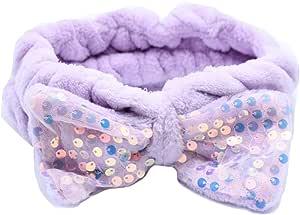 Face Washing Headband with Bow Spa Headband
