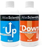 pH Up and pH Down Control Test Kit - Hydroponics Solution - pH Calibration Solution for Water Test, Aquaponics, Raising & Lowering Plant Nutrients - pH Test Indicator - Set Of 2(8 oz. Bottle)