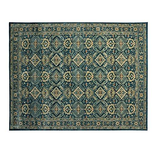 Gertmenian 21378 Oriental Rug III Persian Area Carpet, 9x13 X Large, Navy Blue Abstract