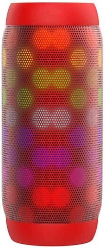 Bluetooth Speaker Night Light Changing Wireless Speaker Portable 6 Color LED