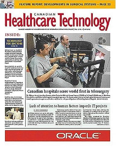 Canadian Healthcare Technology: Amazon com: Magazines