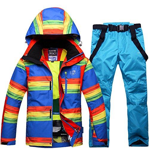 Pantaloni Uomini Dyf Giacche Donne Tuta Cerniera Cappotto Di Fym Degli blu Sci By Antivento M Caldo Impermeabile Giacca RXqXnxrtH5