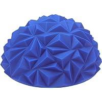 LIOOBO Blue Inflatable Stability Training Hemisphere Wobble Cushion Balance Semi-Ball Mobility Balance Trainer
