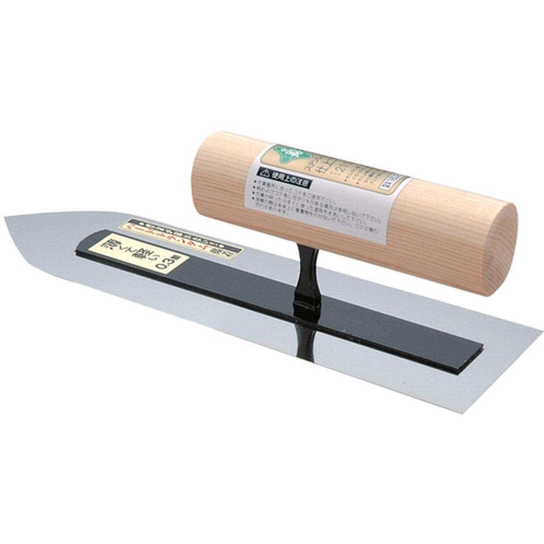 緑長 ステンレス 仕上鏝 板厚0.3mm 210mm