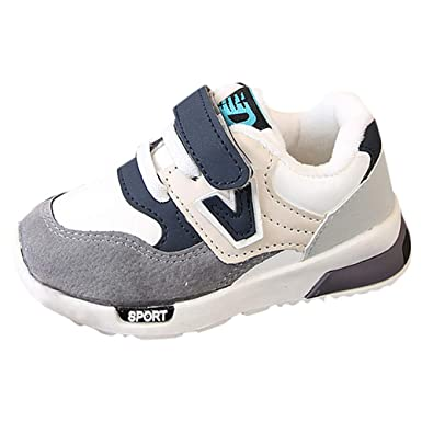 e7a89b21070 Amazon.com  Baby Sneaker Shoes Girls Boy Kids Breathable Mesh Lightweight Athletic  Running Walking Casual Shoes  Clothing