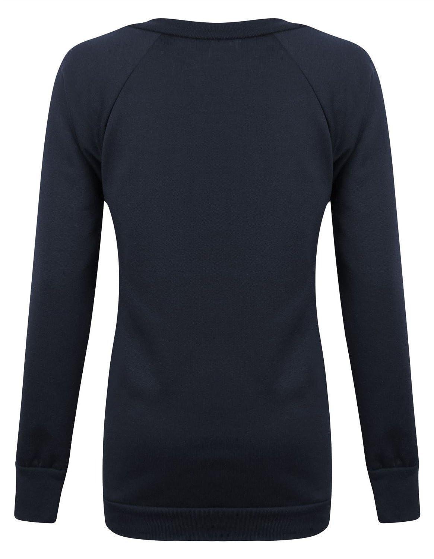 Forever Womens Dope Geek Brookleyn Boy Cocaine Print Fleece Sweatshirt ML-10//12, Cocaine Navy