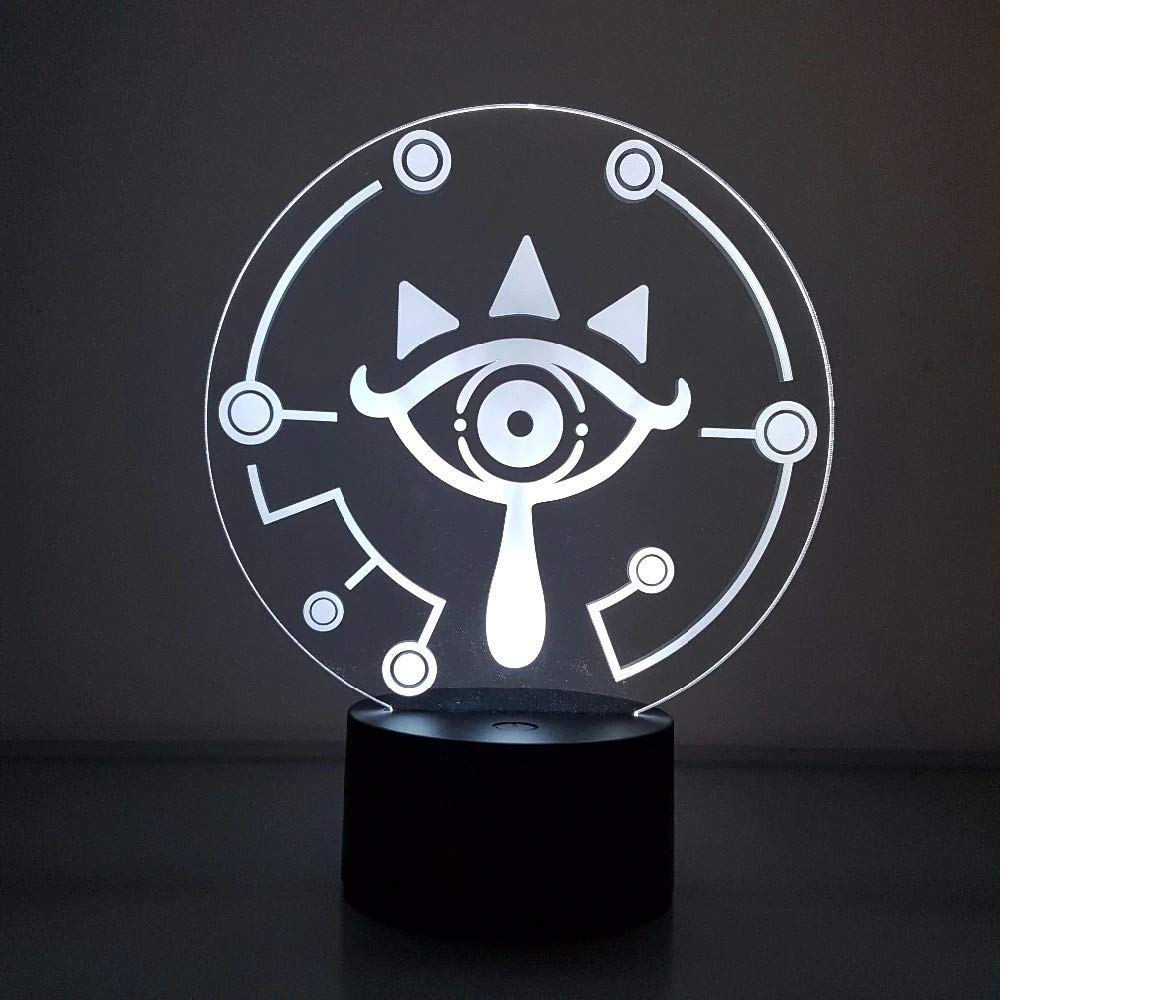 Amazon.com: The Legend of Zelda Visual Illusion LED 3D ...