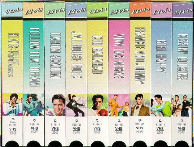 Elvis Presley Collector Set 1 [VHS]