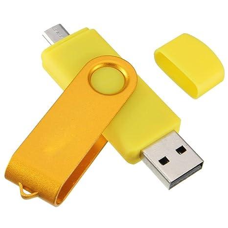 32GB PenDrive SODIAL R USB memoria micro Palillo de memoria 32GB USB 2.0 Dispositivo de flash OTG para Handy PC Verde