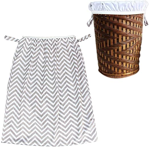 Dirty Diapers Wet Bag Multifunctional Reusable Hamper Storage Bucket Bag Trash Can Storage Bag Diaper Storage Bag