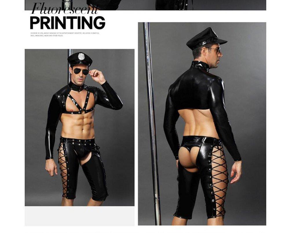 L.Atsain Sexy Dessous Für Männer Polizei Outfit,Herren Homosexuell ...