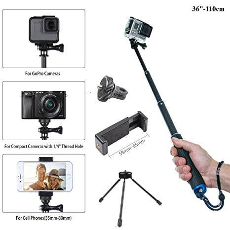 d7f70229ee803e Buy RUIGPRO Selfie Stick Online at Low Price in India   RUIGPRO Camera  Reviews & Ratings - Amazon.in