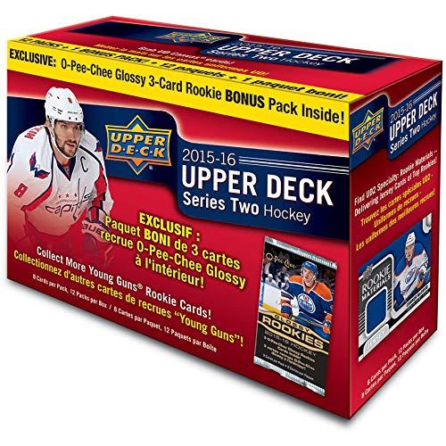 - 15-16 Upper Deck NHL Series 2 Mega Box