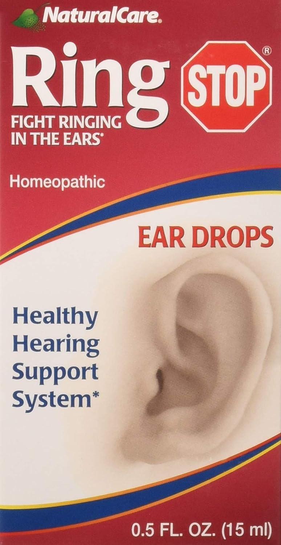 NaturalCare Ringstop Ear Drops, 0 5-Ounce