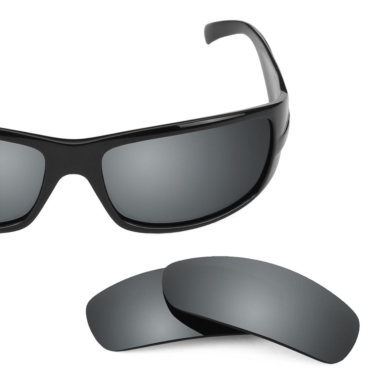 85deb304d5 Amazon.com  Revant Polarized Replacement Lenses for Ray-Ban RB4057 Elite  Black Chrome MirrorShield  Sports   Outdoors