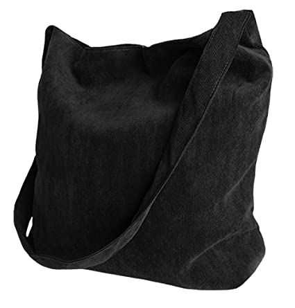 914e31ec66bf7 Sac Messager Sacoche Cabas Besace Sac Shopping, Noir: Amazon.fr: Bagages