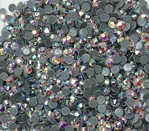 5,000pc bulk 4mm 16ss AB Crystal Loose Rhinestone Hot Fix ()