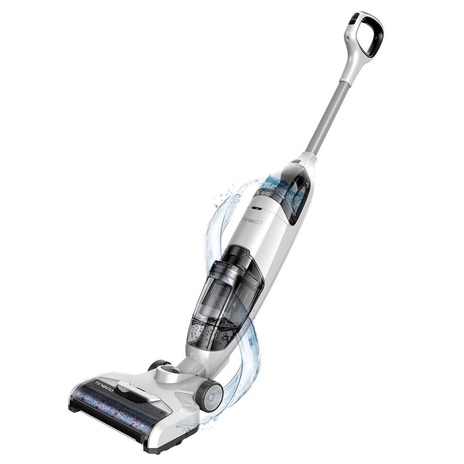 Tineco iFloor Cordless Wet Dry Vacuum Cleaner Powerful and Lightweight Hard Floor Washer with Self-Cleaning Brush