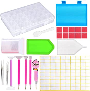 5D Diamond Embroidery Painting Accessories Box Diamond Painting Tools Kits Gifts