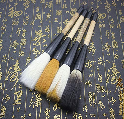 Multi Function Pen - piece Calligraphy supplies writing brush Short hemp rod grab pen Word great - by VIVIAN
