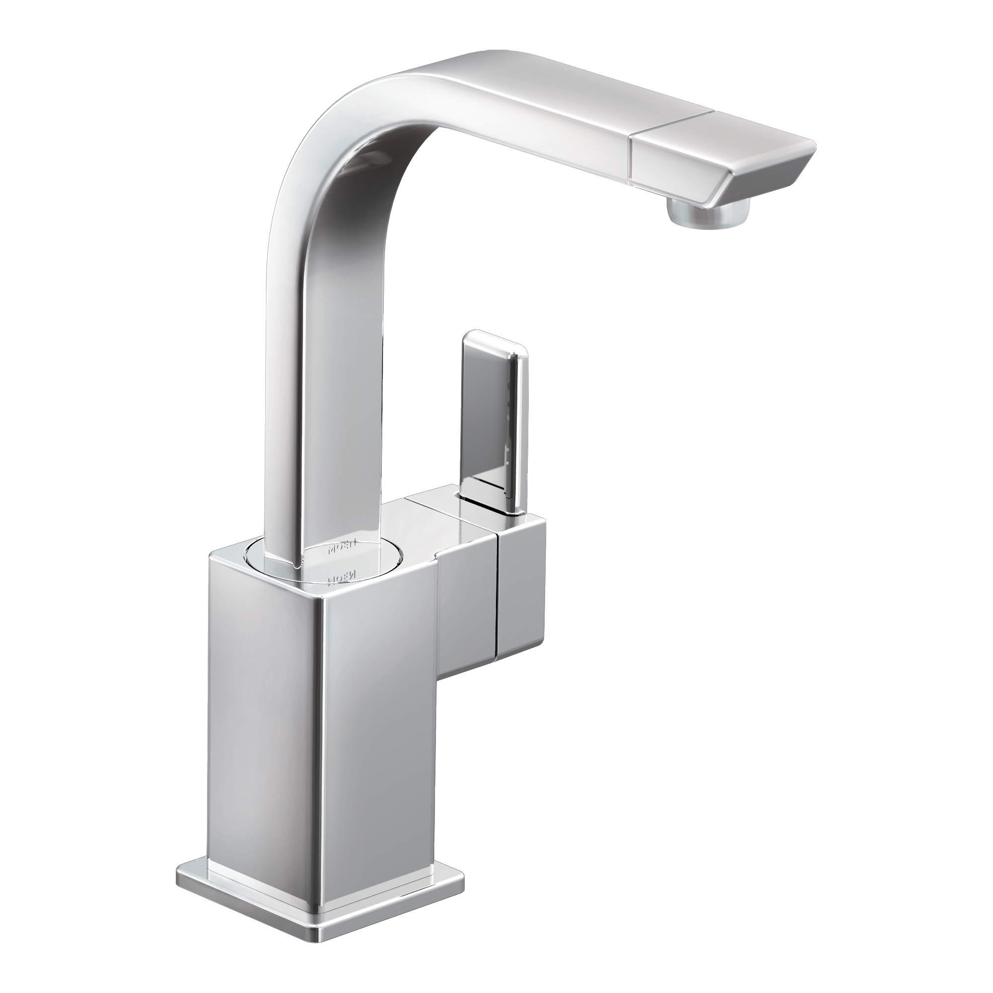 Moen S5170 90 Degree One-Handle High Arc Single Mount Bar Faucet, Chrome