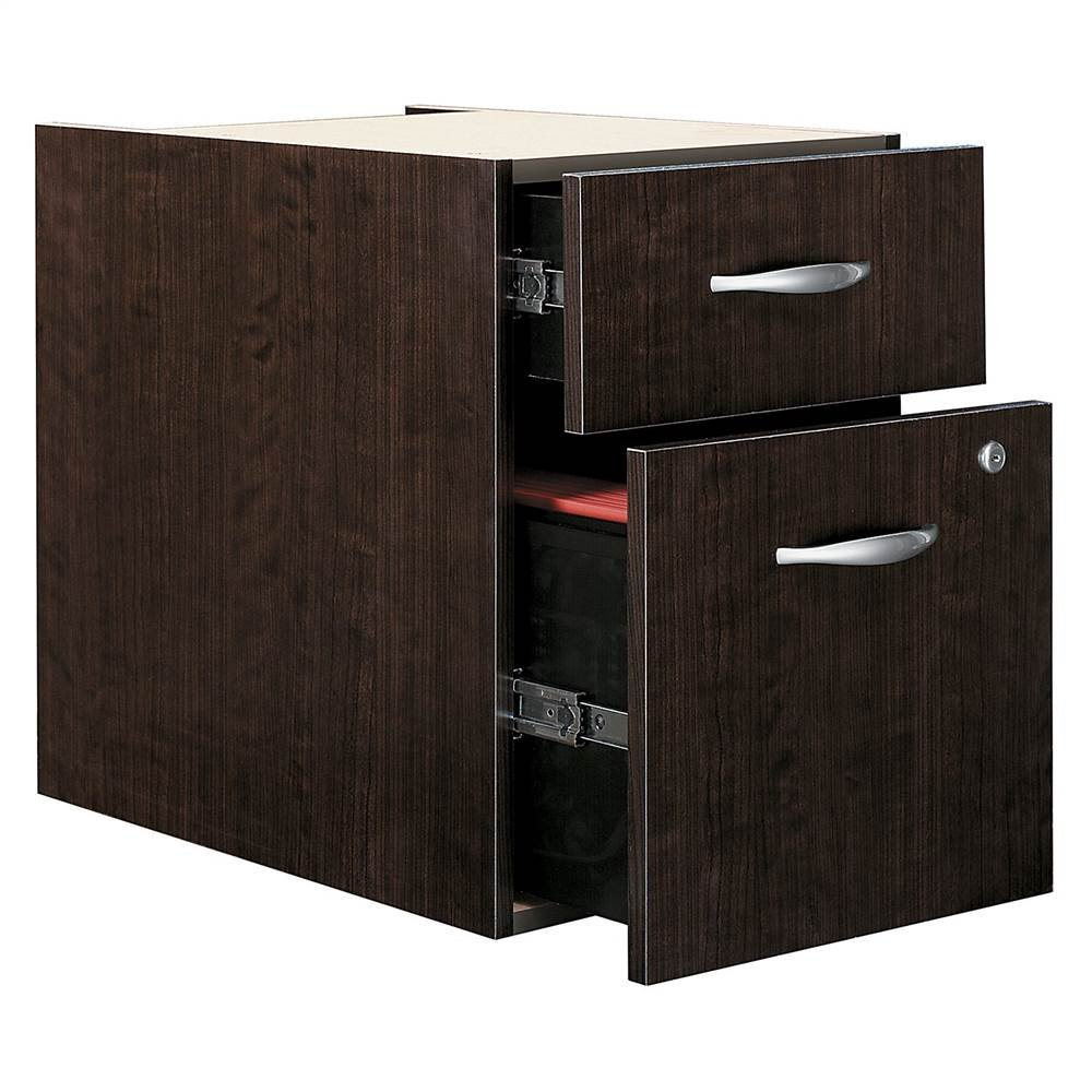 Assembled 3-4 Pedestal File in Mocha Cherry - Series C