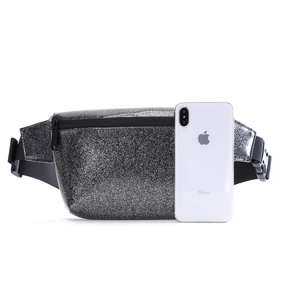 Tinyat transparent PVC reiseg/ürtel kleine Tasche Mode g/ürtel kleine Tasche Gurt Tasche ultraleichte Reisetasche T1952