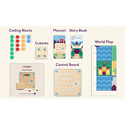 Cubetto Educational Coding Robot. Screen-Free Coding for Early Years: Toys & Games