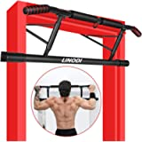 LINODI Pull Up Bar for Doorway with Angled Grip Door Frame Chin Up Bar for Home Gym Exercise,No Installation Needed…