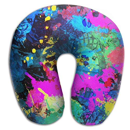 Silent Movie Actors Costume (U Shape Pillow Traveling Pillow Neck Protective Pillow With Custom Abstract Art Distinctive Design For Home Office Traveling Driving)