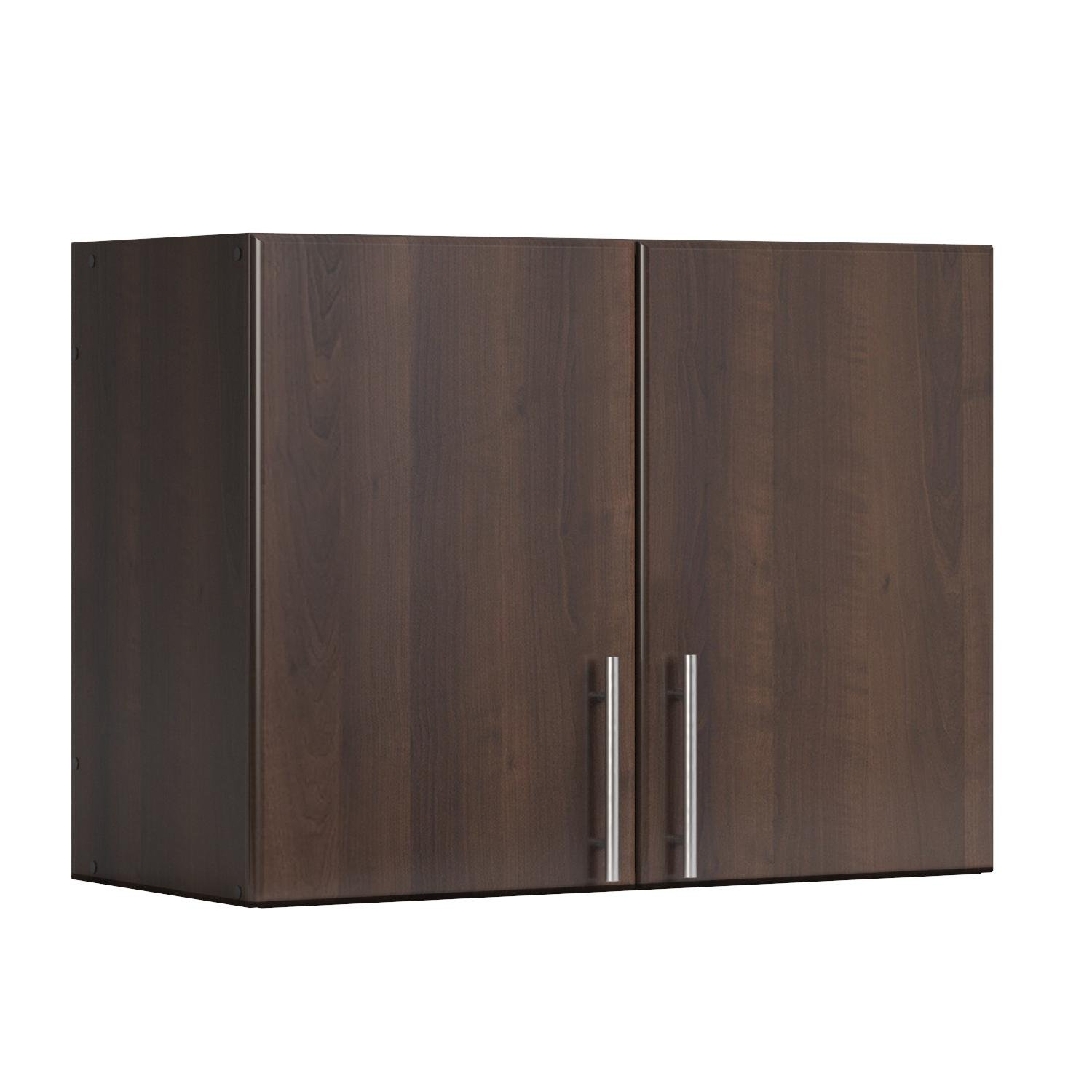 Prepac Espresso Elite Stackable Wall Cabinet, 32'', Brown