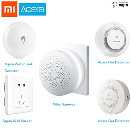 Aqara Zigbee Smart home secuity Kit with Gateway, Gas alarm ...