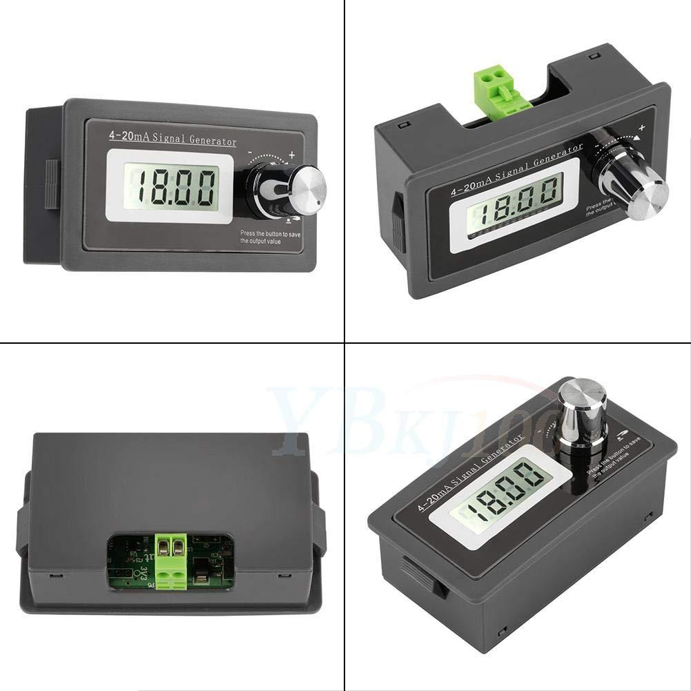 4-20ma G/én/érateur de Signaux de Courant 9 Segments Sortie Programmable Simulateur Analogique Haute Pr/écision avec Affichage LCD