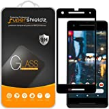 Supershieldz [2-Pack] for Google (Pixel 2) Tempered Glass Screen Protector, Anti-Scratch, Bubble Free, Lifetime Replacement (Black)