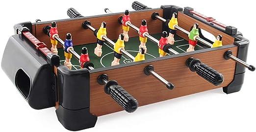 Futbolín de Mesa Juegos Mini futbolín fútbol Conjunto de la Mano ...