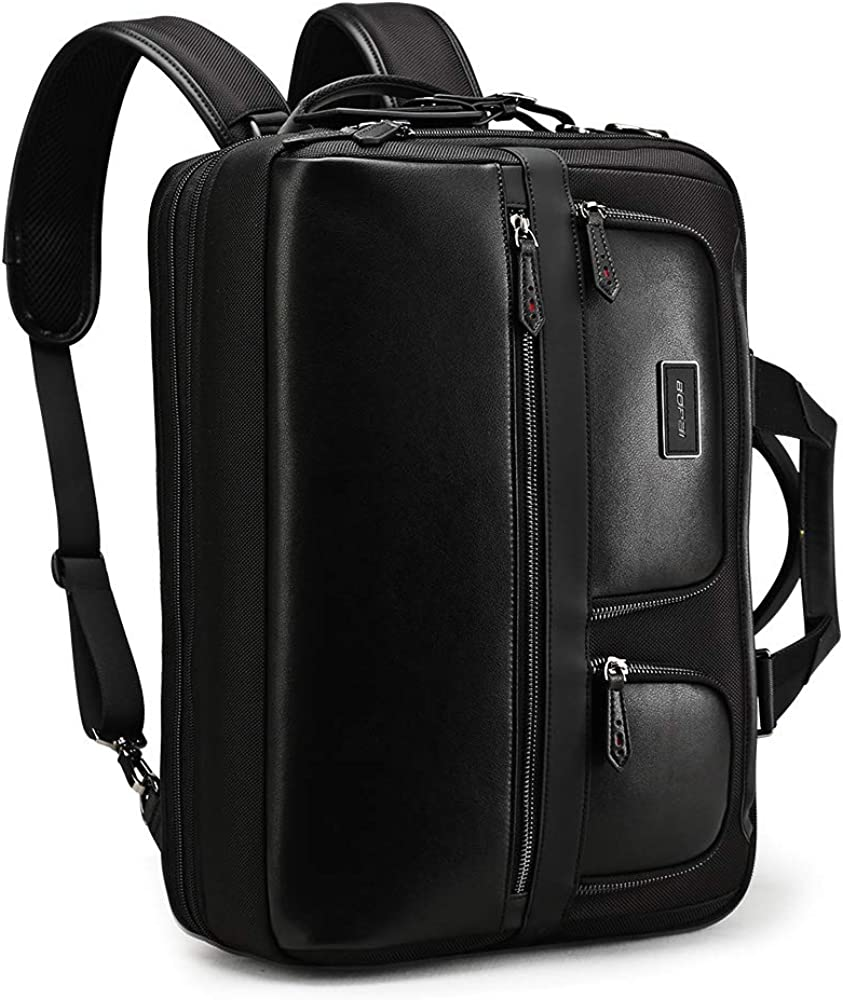 BOPAI 3-in-1 Laptop Backpack for Travel Business Laptop Backpack 15.6 Inch