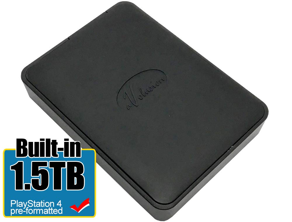 Avolusion 1.5TB USB 3.0 Portable PS4 External Hard Drive (PS4 Pre-Formatted) HD250U3-X1-1.5TB-PS - 2 Year Warranty