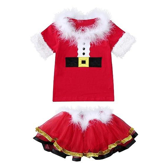 Fossen 6 Meses - 4 años Bebe Niña Disfraz Navidad Camiseta ...