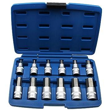 Bekannt 12 x Kraft Innensechskant Einsatz/Schlüssel für Innen-6-kant TM78